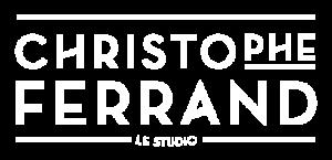Logo Christophe Ferrand Blanc